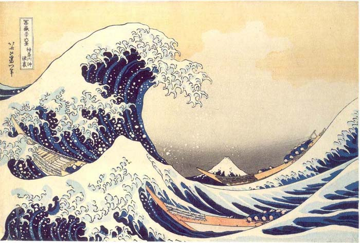 Hokusai-The-Great-Wave-by-at-Kanagawa-c1930