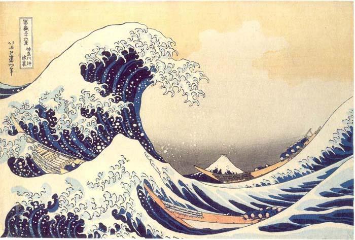 Hokusai-The-Great-Wave-by-at-Kanagawa-c1930