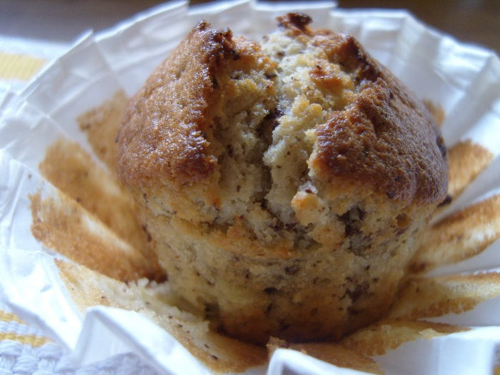 muffin ouvert